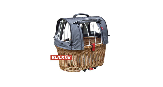 KlickFix Doggy Basket Plus für Racktime